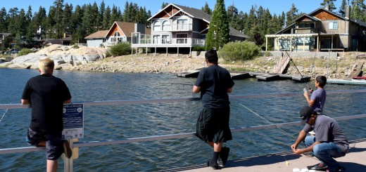 Fishing in Big Bear Lake