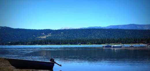 Big Bear Lake cabin rentals in August