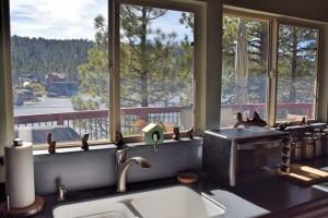 basic supplies at cabin rental in Big Bear Lake