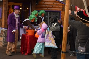 Halloween in Big Bear Lake Village