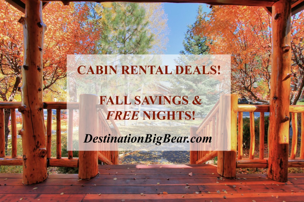 Fall Cabin Rental Deals Destination Big Bear