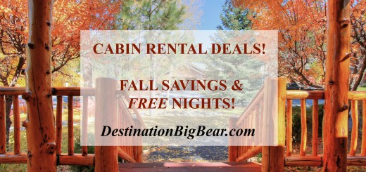 Big Bear cabin deals