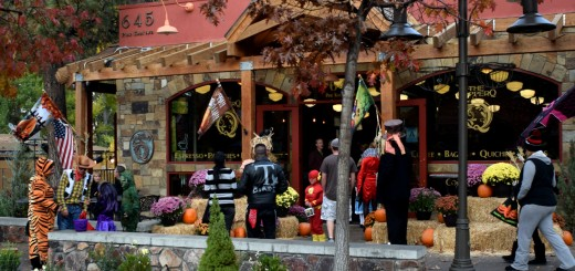 Trick or Treat in Big Bear Lake Village