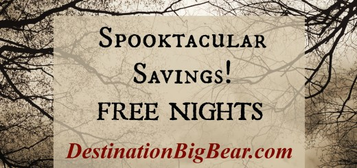 free nights in Big Bear Lake cabin rentals