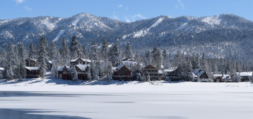 Big Bear Lake winter cabin rentals
