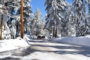 road conditions in Big Bear Lake - Big Bear vacation rentals
