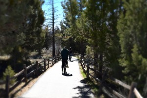 Biking the Alpine Pedal Path in Big Bear Lake