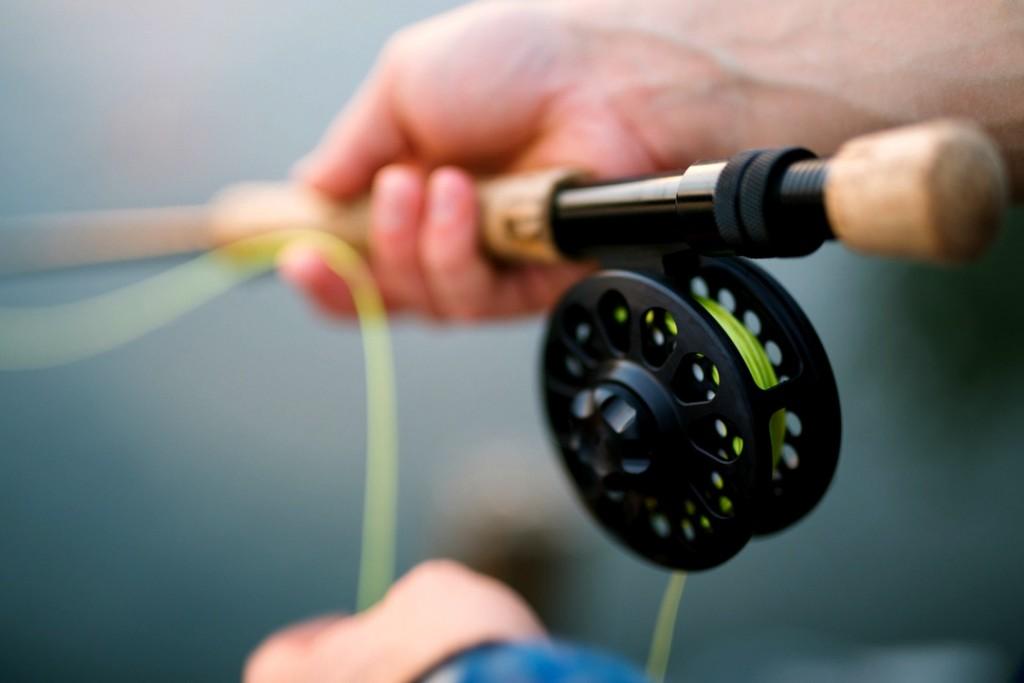 Fishing with kids in Big Bear Lake