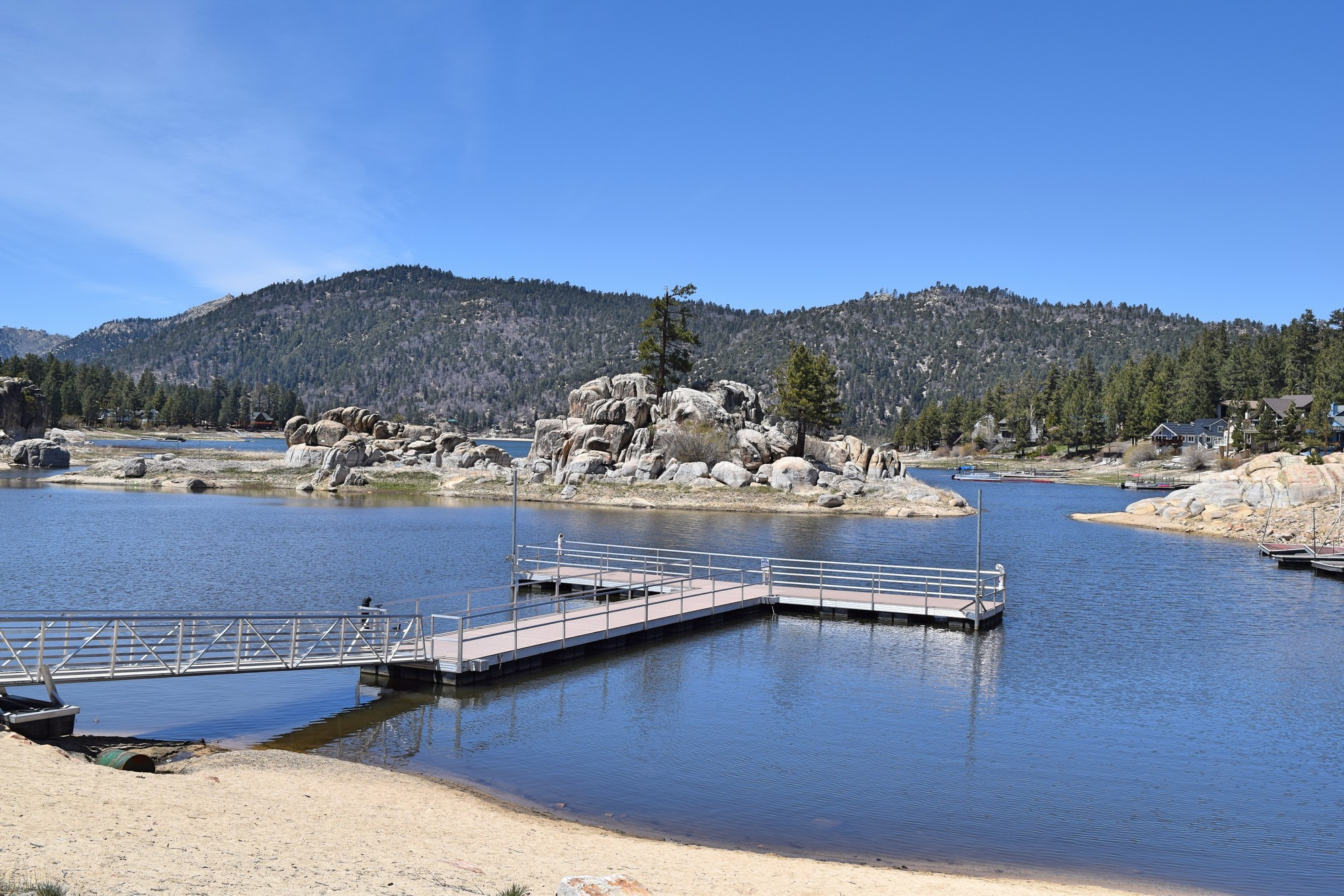 Boulder bay cabins in big bear lake destination big bear Big bear lakefront cabins for rent