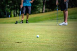 Golfing in Big Bear Lake