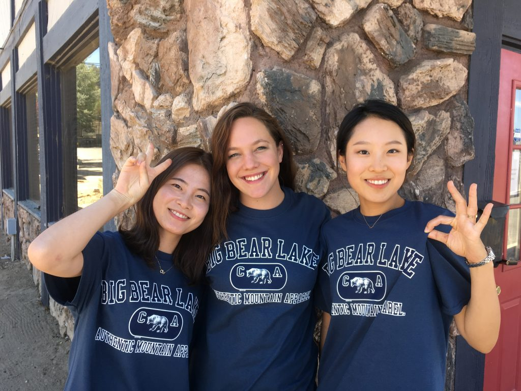 Destination Big Bear Interns