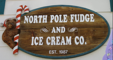 North Pole Fudge and Ice Cream Co Big Bear Lake