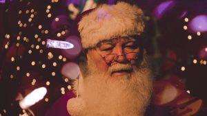 Santa in Big Bear