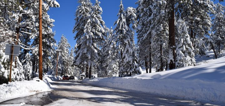 Big Bear road conditions