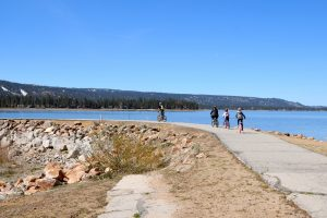 Biking in Big Bear
