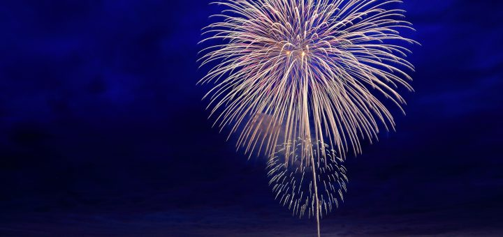 Big Bear Lake fireworks