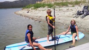 SUP on Big Bear Lake
