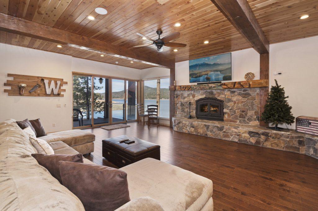 Big Bear lakefront cabin