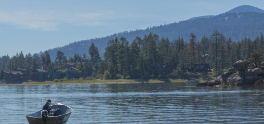 big bear lake water level