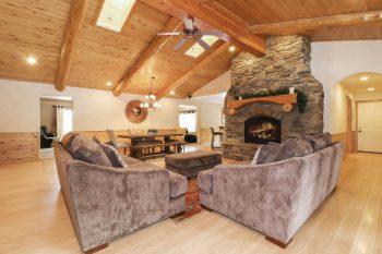 Big Bear Cabin- Brave Bull