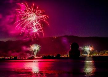 Fireworks in Big Bear