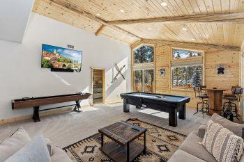 Big Bear Cabin - Luna Lodge - Game room