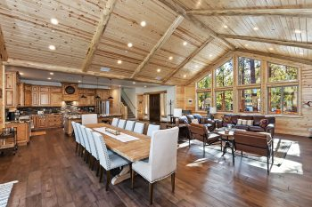 Big Bear Cabins- Luna Lodge - Dinning Room