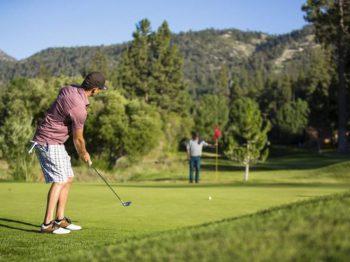 Big Bear Golf Course- Hole #1