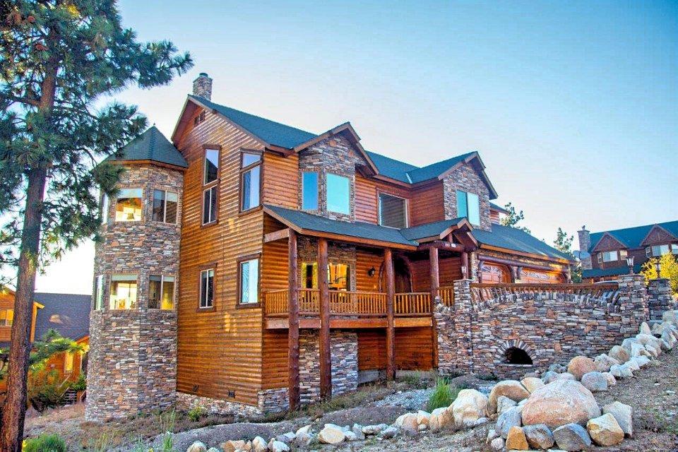Big Bear Luxury Cabins Windsong Retreat